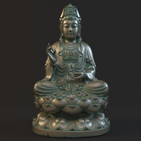 Kwan-yin 011 3D Model