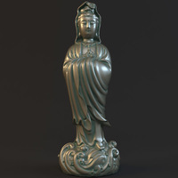 Kwan-yin 012 3D Model