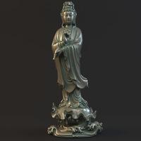 Kwan-yin 017 3D Model