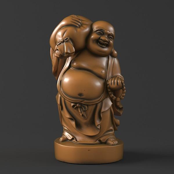 37 Maitreya Buddha 3D Model