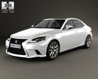 Lexus IS (XE30) 2013 3D Model