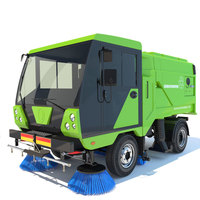 Street Sweeper Scarab 3D Model