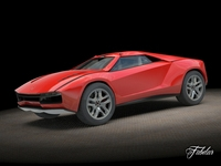 Giugiaro Parcour 3D Model
