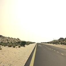 desert road 3D Model