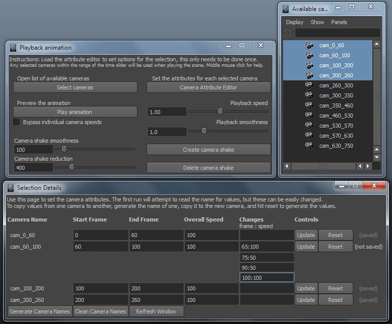 Scene Constructor for Maya - Free Animation Scripts / Plugins
