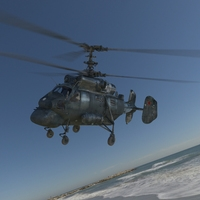 Russia Ka25 anti-submarine helicopter 3D Model