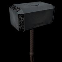 Thor's hammer, Mjolnir 3D Model
