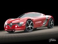 Renault Dezir 3D Model
