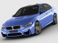 BMW M3 F30 3D Model
