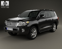 Toyota Land Cruiser (J200) 2013 3D Model