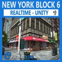 Free NYC Block #6 Unity 3D Model