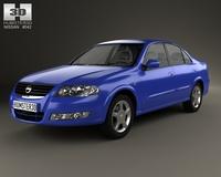 Nissan Almera (B10) Classic 2012 3D Model