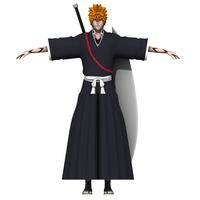 Ichigo 3D Model