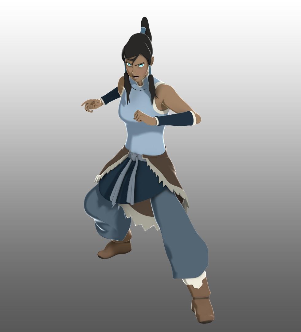 Avatar Two: Avatar Korra 3D Model