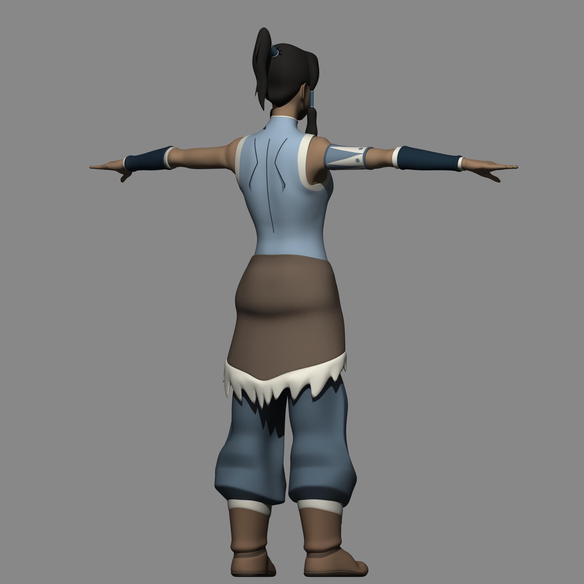 Avatar 3: Avatar Korra 3D Model