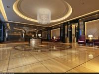 Lobby Sence 001 3D Model