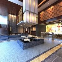 Lobby Sence 008 3D Model
