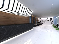 Lobby Sence 011 3D Model