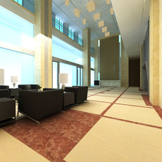 Lobby Sence 014 3D Model