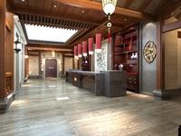 Lobby Sence 015 3D Model