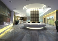 Lobby Sence 017 3D Model