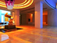 Lobby Sence 018 3D Model