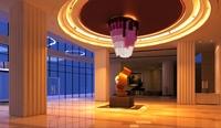 Lobby Sence 019 3D Model