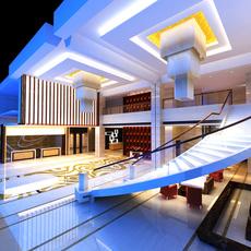 Lobby Sence 025 3D Model