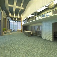 Lobby Sence 029 3D Model