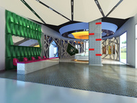 Lobby Sence 037 3D Model