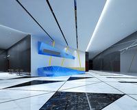 Lobby Sence 045 3D Model