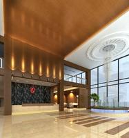 Lobby Sence 048 3D Model