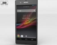 Sony Xperia Z 3D Model