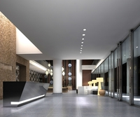 Lobby Sence 052 3D Model
