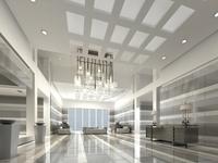 Lobby Sence 055 3D Model