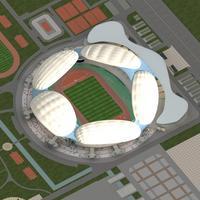 Grand Stadium 005 3D Model