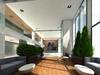 Lobby Sence 067 3D Model