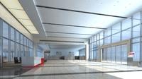 Lobby Sence 072 3D Model