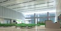 Lobby Sence 074 3D Model