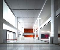 Lobby Sence 081 3D Model
