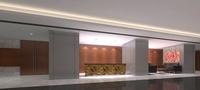 Lobby Sence 084 3D Model
