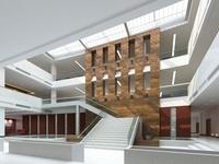Lobby Sence 093 3D Model
