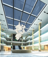Lobby Sence 098 3D Model