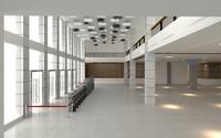 Lobby Sence 105 3D Model