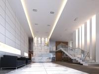 Free Lobby Sence 108 3D Model