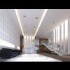 Lobby Sence 108 3D Model
