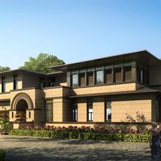 3d Villa 010 3D Model