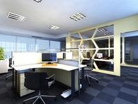 Office 005 3D Model