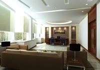 Office 016 3D Model