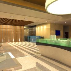 Office 019 3D Model